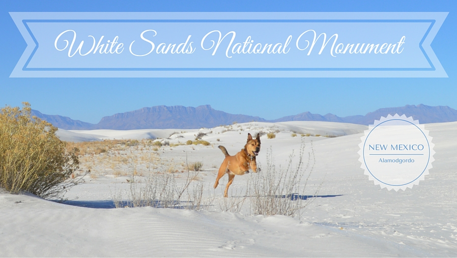 White Sands National Monument - dog-friendly