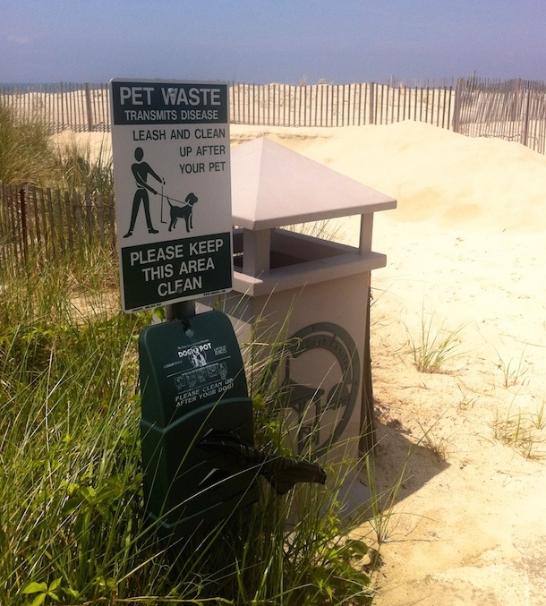 dog-poo-bag-ocean-view-beach-virginia