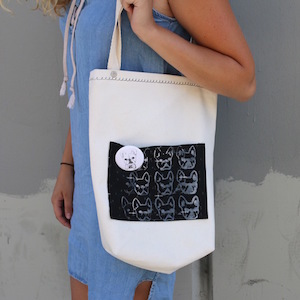 wtfrenchie tote