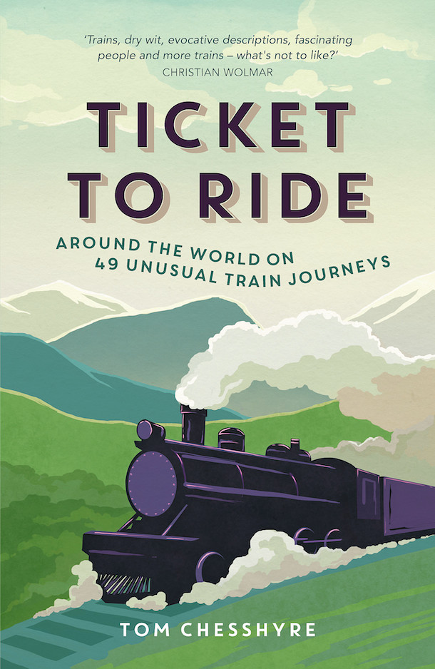 cover of Ticket to Ride book summers dale