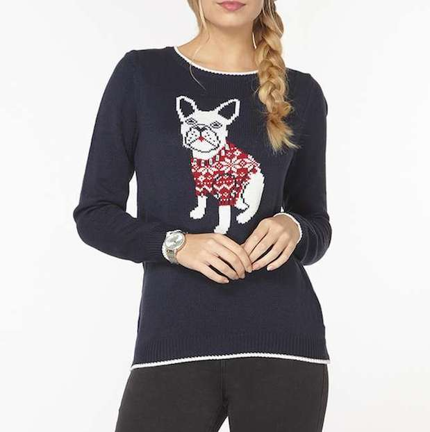 dorothy-perkins-christmas-dog-sweater-women-frenchie-fair-isle
