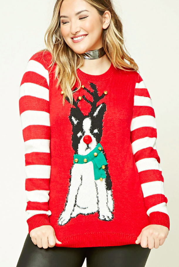 forever-21-jingle-bell-dog-sweater
