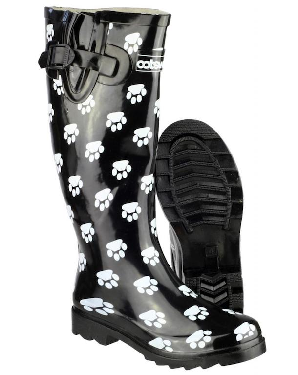 cotswold_dog_paw_wellingtons_black_amp_white_womens