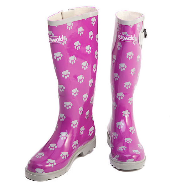 pink-white-pawprint-wellies